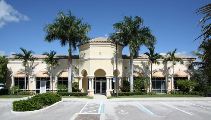 Cypress Point Office Building in Jupiter, Florida built by Palm Beach County General Contractor Rapp Construction Company