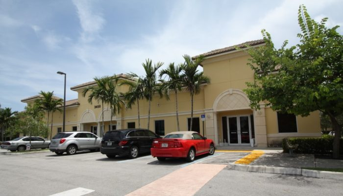 Office Building built by West Palm Beach, Florida General Contractor Rapp Construction Company