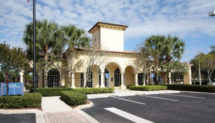 New PNC Bank branch built by West Palm Beach, Florida General Contractor Rapp Construction Company